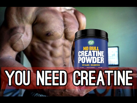 Why You NEED to take Creatine | Raw Barrel Creatine Review - YouTube