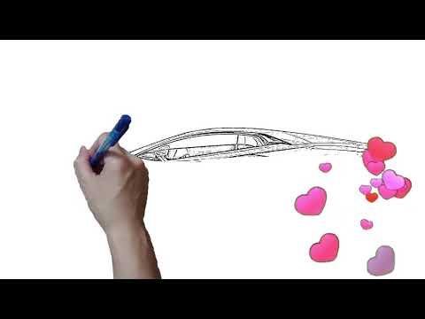 vẽ siêu xe lamborghini