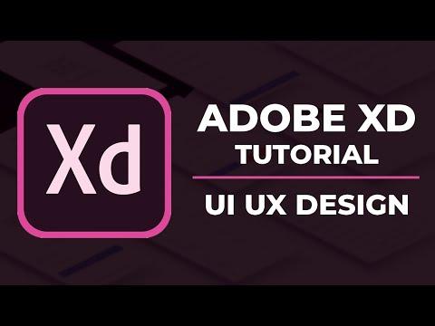 Adobe XD Tutorial   UI Design Tutorial   UI UX Wireframe Design Tutorial In Hindi thumbnail