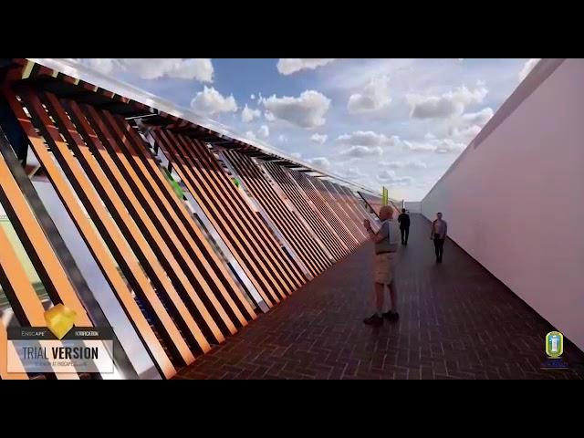 Avanza construcción del estadio de fútbol de sodelad