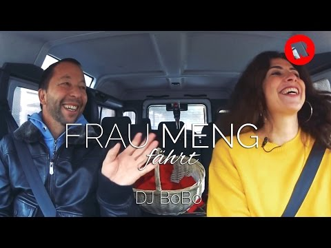 Frau Meng fährt... DJ BoBo (002) // Radio Hamburg