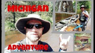 Rockn' Trip to Michigan - 65 Mile Kayaking Trip on the Manistee