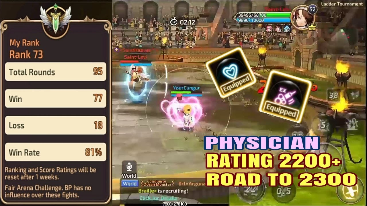 Road to 2300 w/ 80% WIN RATE myPhysician! Eject EX is a OP