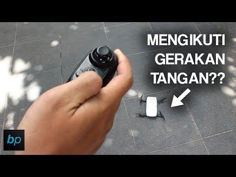 DJI SPARK VERSI MURAH , KENDALI SATU TANGAN!! Eachine E56 Unboxing & Review Indonesia   Buka Paket