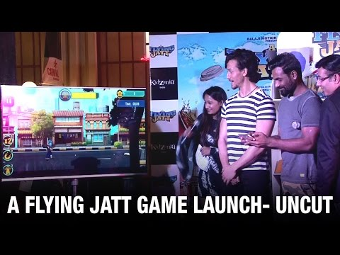 Uncut: Tiger Shroff & Remo D'Souza launch 'A Flying Jatt' game | Latest Bollywood News