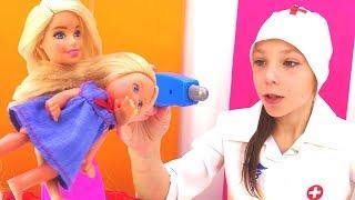 Видео про кукол - Барби разыграла Штеффи
