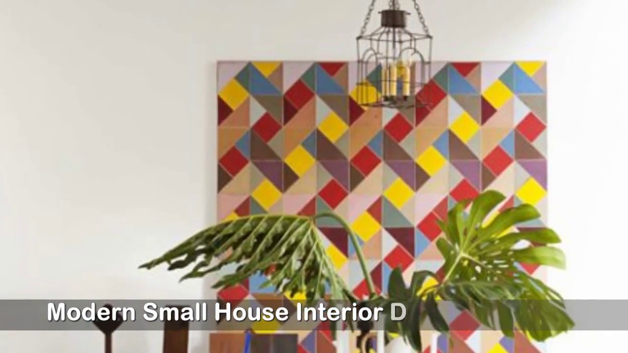 Modern small house interior design ideas