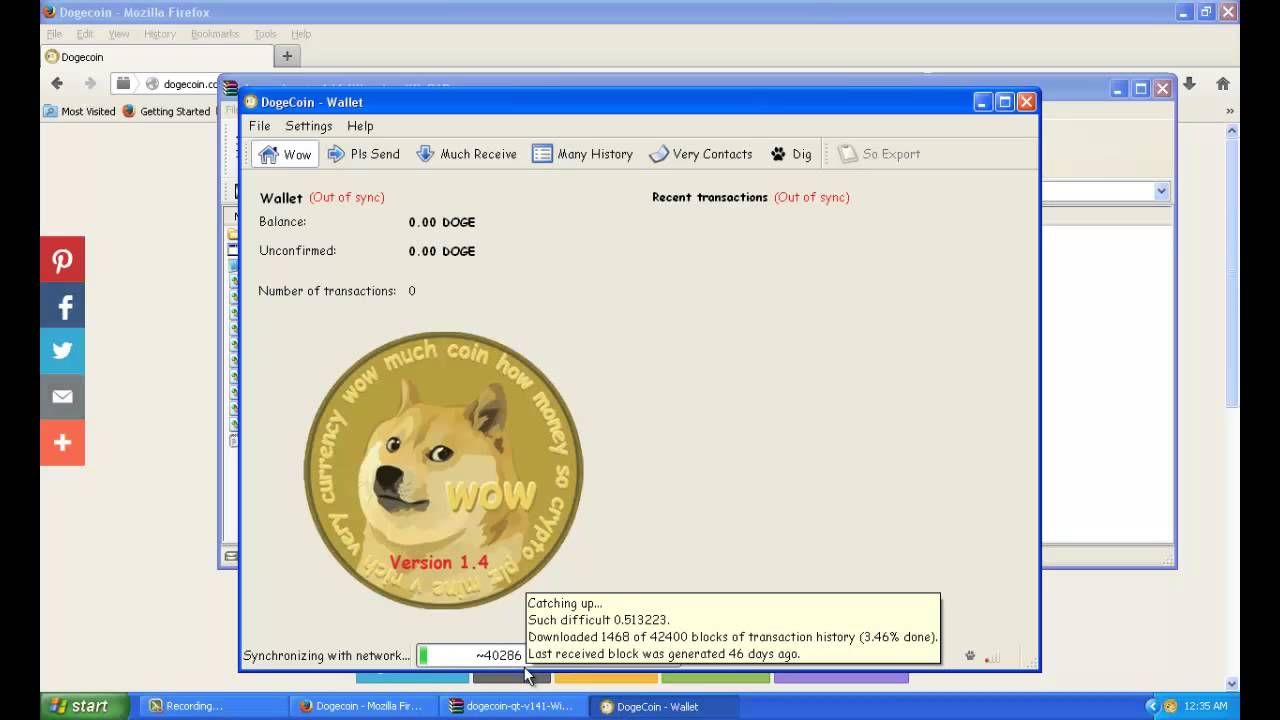 How to get a Dogecoin Wallet - YouTube Dodge Walet on
