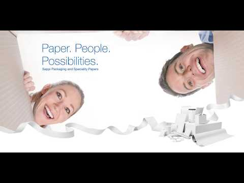 Sappi Packaging And Speciality Papers - An Introduction