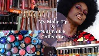 MY MAKE-UP/NAIL POLISH COLLECTION & STORAGE :))) Thumbnail