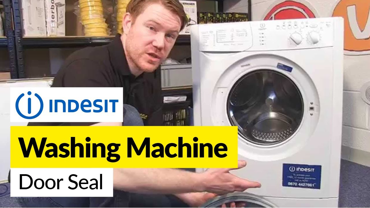 How To Replace An Indesit Washing Machine Door Seal Youtube