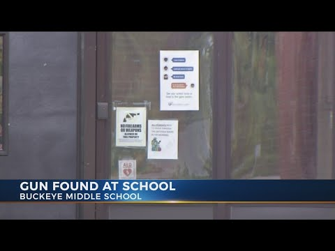 Gun found at Buckeye Middle School