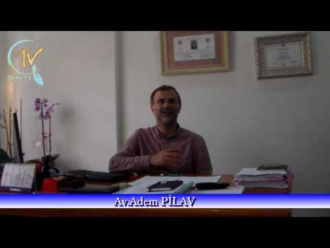 AV ADEM PİLAV uzlaşma ve arabuluculuğu anlatıyor
