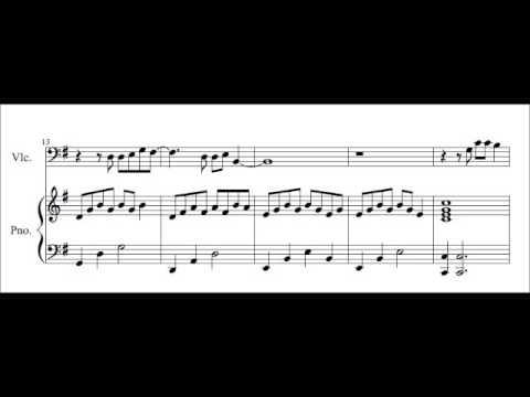 Titanium Cello Sheet Music / Play-Along (David Guetta)