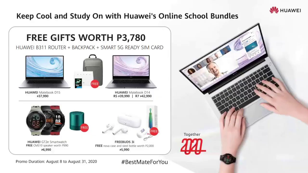 Back to School Promo this August!