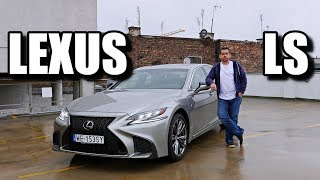 2018 Lexus LS (ENG) - Test Drive and Review
