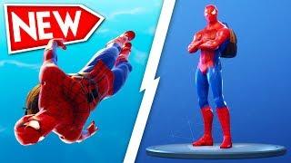 *NEW* HACKED Spider-Man SKIN in FORTNITE Battle Royale