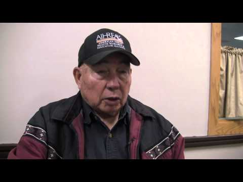 While growing up the Iowa reservation, did you know of any medicine men or healers? with Pete Fee