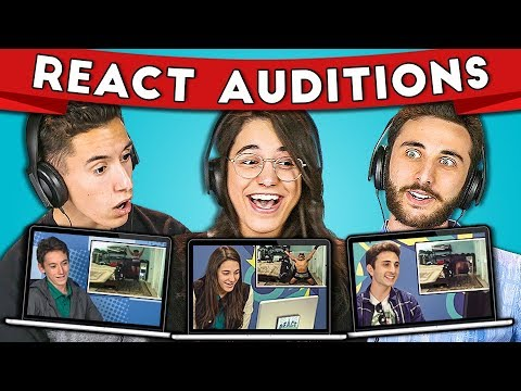 TEENS REACT TO THEIR AUDITION FOR TEENS REACT!