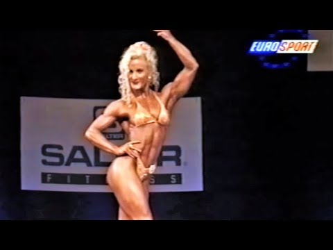 Anke Schwarz (GER), 9th NABBA Miss World Grand Prix, June 1996 [EUROSPORT]