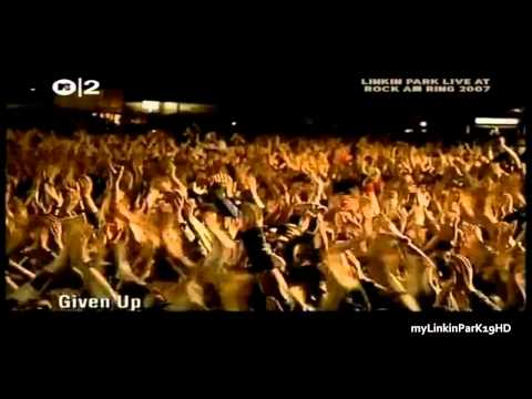 Linkin Park - Given up live - best performance  (17 sec. scream) HD