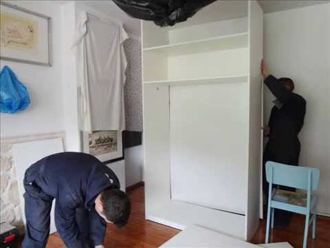 ristrutturazione camera da letto - YouTube