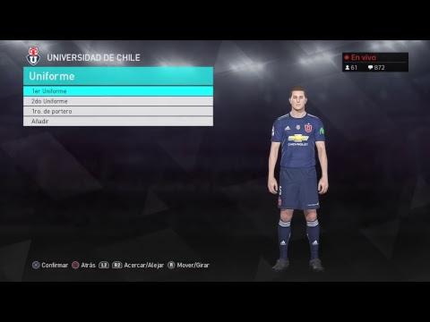 DLC 3.0 PES 2018 Liga chilena sin novedad?