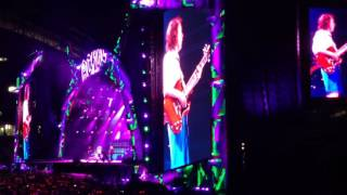 Rock n roll train ACDC live Marseille 13 mai 2016