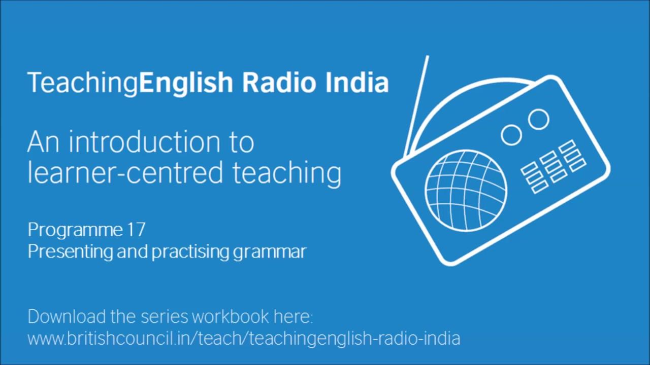 TERIndia | Programme 17: Presenting and practising grammar - YouTube
