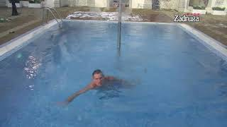 Zadruga 4 - Lepi Mića opet testira sebe u ledenom bazenu- 13.01.2021.