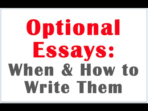 "optional essay medical school Personal statement - the prompt for this is ""use the space provided to explain why you want to go to medical school"" keep in mind that for the average applicant who might apply to 20 schools, this essay will likely be read by somewhere between 40 and 200 people."