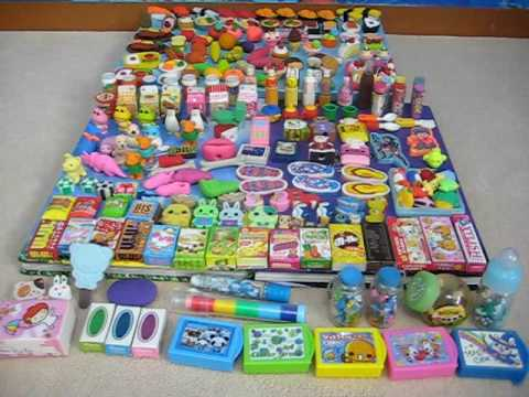 Eraser Collecti Over 200 erasers