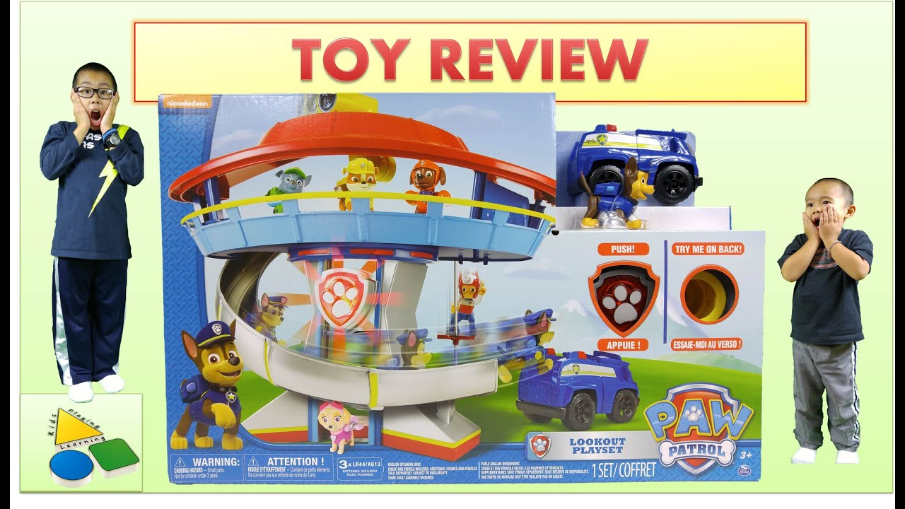 spin master paw patrol watch instructions