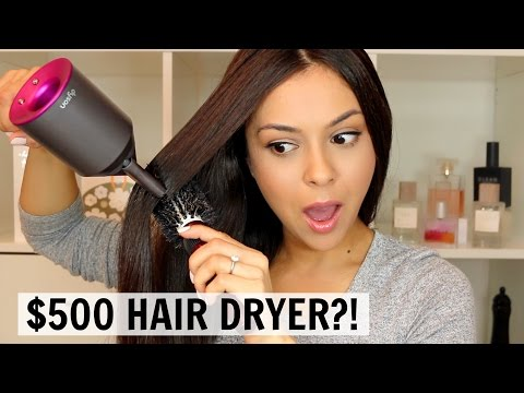 Dyson Supersonic Hair Dryer First Impression | IS IT WORTH IT?! -TrinaDuhra