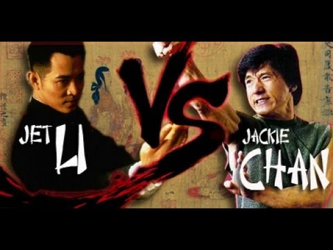 Jet Li Vs Jackie Chan Fan Tribute Hd