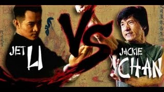 Jet Li Vs Jackie Chan || Fan Tribute || [HD]