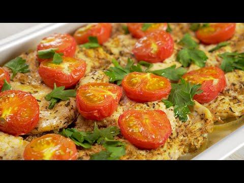 Итальянский рецепт куриного филе для тех, у кого нет времени готовить от Всегда Вкусно!