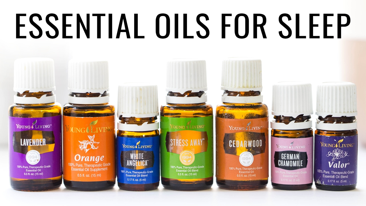 How to Sleep Better With Essential Oils