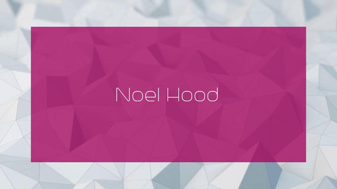 photo Noel Hood