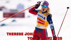 THERESE JOHAUG - WINNER OF THE TOUR DE SKI 2020