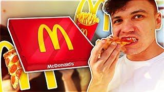 TASTING MCDONALD'S SECRET MENU DELIVERY PIZZA (Taste Test)