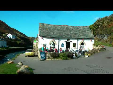 BRITAIN beautiful coast of Cornwall (hd-video)