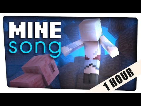 "1 HOUR: ♪ ""Mine Song"" - A Minecraft Parody of Rachel Platten's ""Fight Song"" ♪"