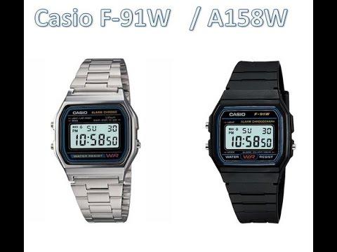 75eaf5e2284 Review Reloj Casio A158w