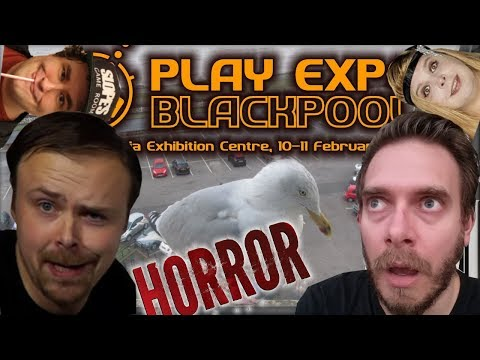 Nerd & Ashens go to Blackpool Play Expo | Nostalgia Nerd