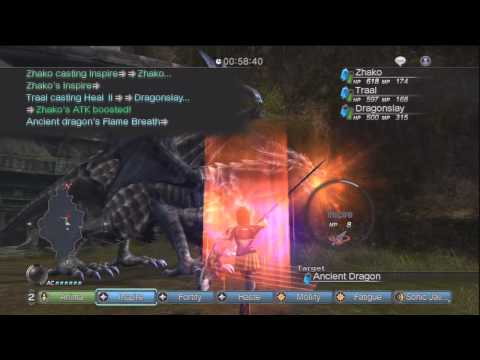 White Knight Chronicles [HD] - GR9 Quest: King of Dragons II Online A Rank Part 3