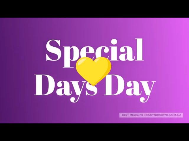 Special Days Day - 6th April