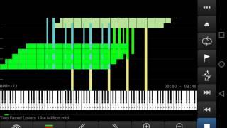 Cover images [Black MIDI]Two Faced Lovers 19.4 Millionoi重新錄製