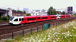 Arriva GTW trein (509+505) nabij Rotterdam zuid richting Dordrecht!