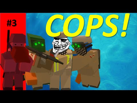 Unturned 3.0 - Adventure | Part 3 - ADMIN and COP ABUSE! (Unturned Washington PvP Funny moments)